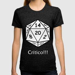 Critico juego de rol T-shirt