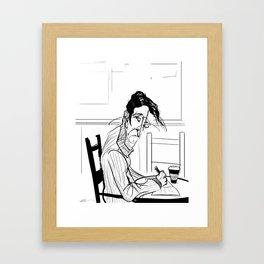 The Poet Framed Art Print