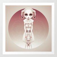 Wonderlost - Tweedle Dee & Dum Art Print