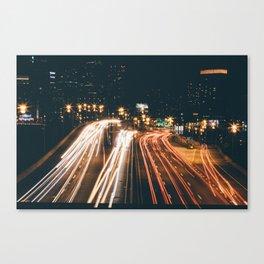 PHILADELPHIA LONG EXPOSURE Canvas Print