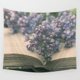 Book of LOVE - Lilacs Syringa Wall Tapestry