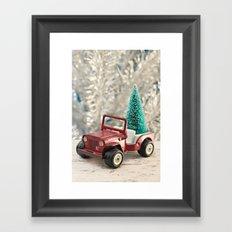 Tonka Christmas Framed Art Print