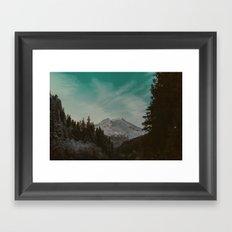 Mt. Baker Framed Art Print
