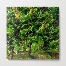 Magic of Trees Metal Print