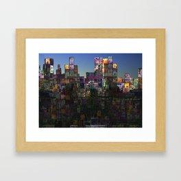 City Sunrise III Framed Art Print