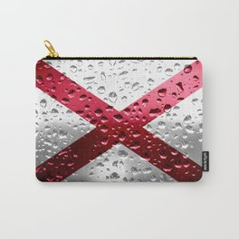 Flag of Alabama - Raindrops Carry-All Pouch