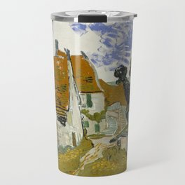 Vincent Van Gogh Street In Auvers-Sur-Oise Travel Mug