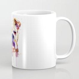 English Bulldog Head Coffee Mug
