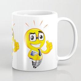 Funny lamp cartoon Coffee Mug