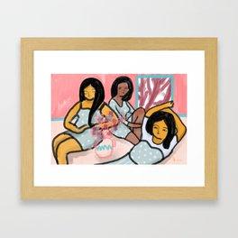 By morning Framed Art Print