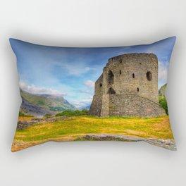 Dolbadarn Castle Rectangular Pillow