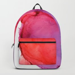 Bleeding Rainbow Blend - Alcohol Ink Painting Backpack