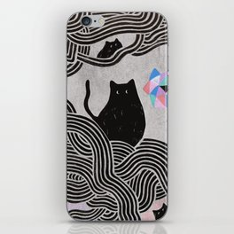 Collage Cats II iPhone Skin