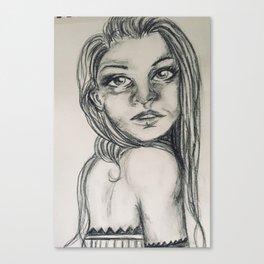 Lazy summer Canvas Print
