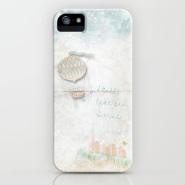Still, like air, I rise. iPhone Case