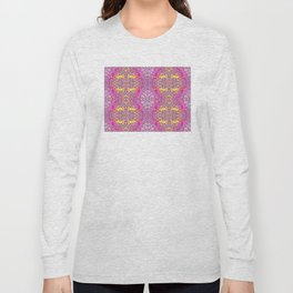 Marble Patch 1 Solarized Long Sleeve T-shirt