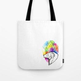 Bear Tarot Tote Bag