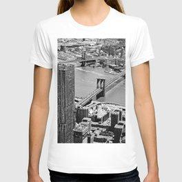 Brooklyn Bridge View - New York City T-shirt
