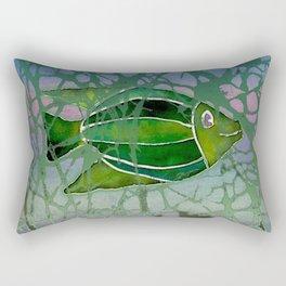 Batik Fish Rectangular Pillow