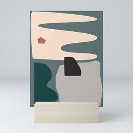 // Shape study #21 Mini Art Print