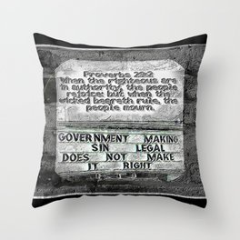 Scripture Pictures 12 Throw Pillow