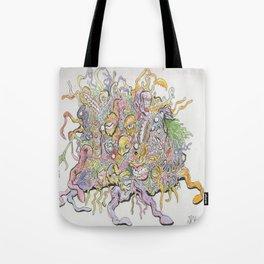 funky horror Tote Bag