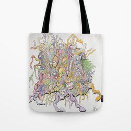 funky horror Tote Bag