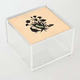 California - State Papercut Print Acrylic Box
