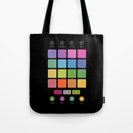 Dj Electronic Music Tote Bag