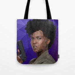 Farah Black Tote Bag