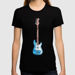 Blue Bass Guitar T-shirt