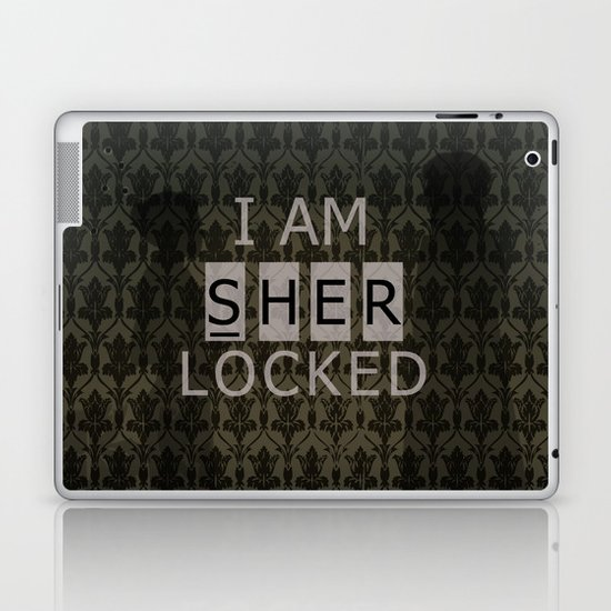 Sherlocked Laptop & iPad Skin