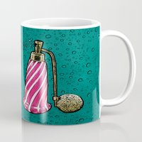 perfume Mugs featuring Perfume by MR VELA