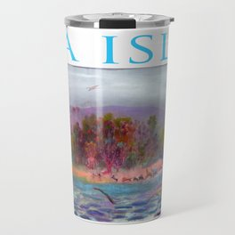 La isla. Travel Mug