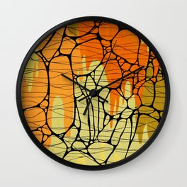 Piedras Color 1 Wall Clock