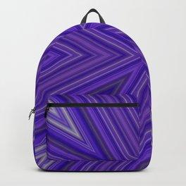 Purple Vee Backpack