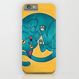 Kitten Laughing Out Loud iPhone Case