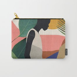 Tropical Girl Carry-All Pouch