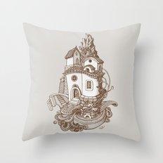 Crystal Mountain - 2 Throw Pillow