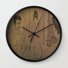 BATHROOM - FIFTY SHADES OF GREY Wall Clock