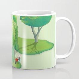 Topiary Dog Coffee Mug