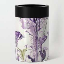 Lilac flower Can Cooler