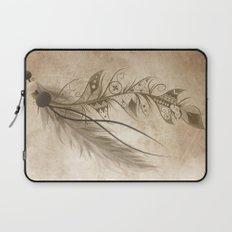 Bohemian Feather Laptop Sleeve