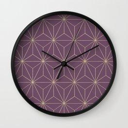 Geometric Glamor #3 #geo #decor #art #society6 Wall Clock