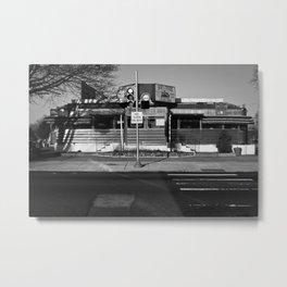 Bob's Diner Metal Print