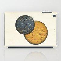 sun and moon iPad Cases featuring Sun &  Moon by Jonathan Knight