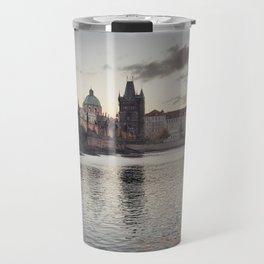 Prague Towers Travel Mug
