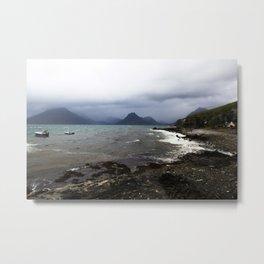 Elgol Scotland - Stormy Seas Metal Print