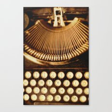 typewriter. Ink Slinger No.2   Canvas Print