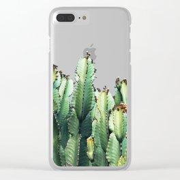 Cactus Love #society6 #decor #buyart Clear iPhone Case
